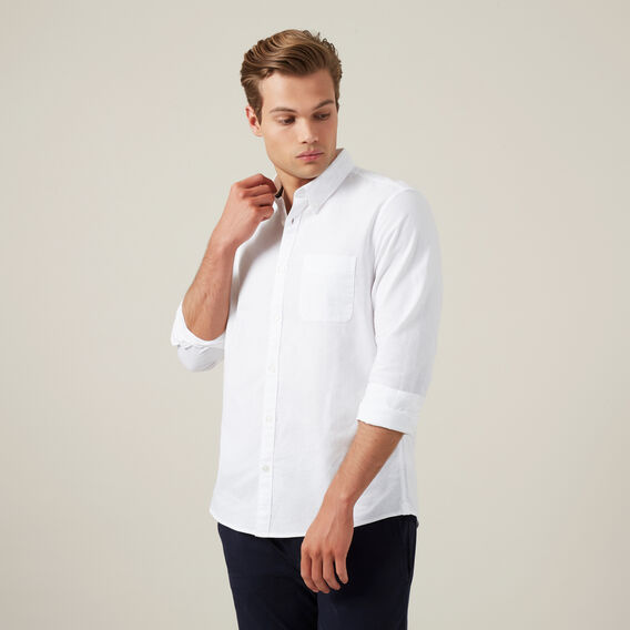 OXFORD L/S CLASSIC FIT SHIRT  WHITE  hi-res