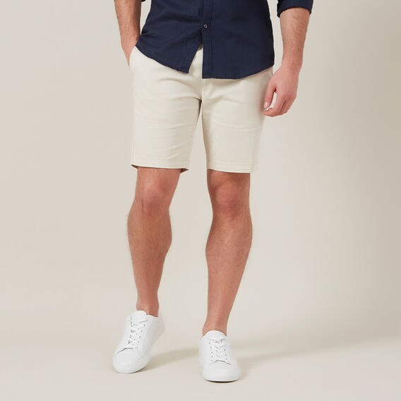 SLIM FIT CHINO SHORT  SALT  hi-res