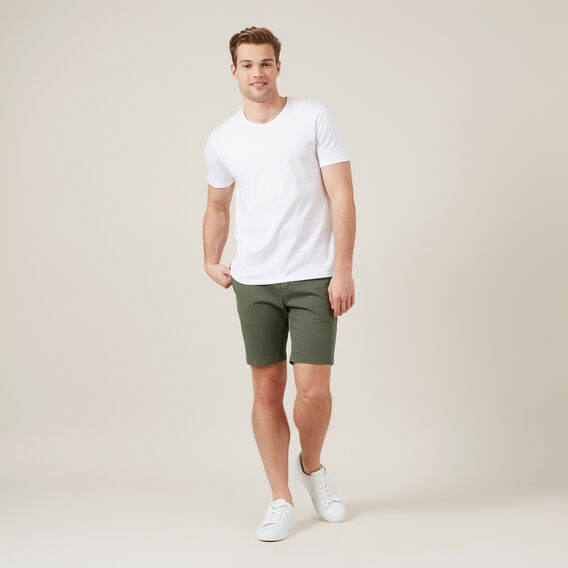SLIM FIT CHINO SHORT  NEO KHAKI  hi-res