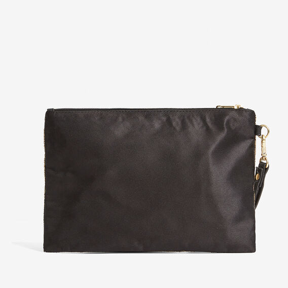 ANIMAL BEADED BAG  BLACK/BRONZE  hi-res