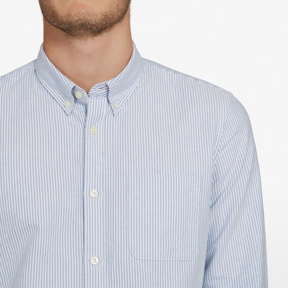 STRIPE OXFORD CUSTOM FIT SHIRT  STRIPE  hi-res