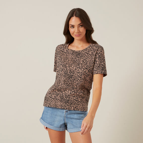 PRINTED ANIMAL TEE  ANIMAL  hi-res