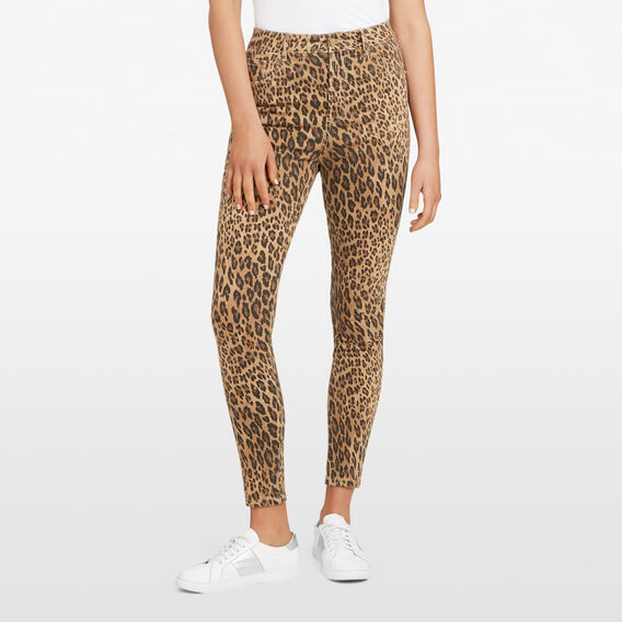 ANIMAL PRINTED JEAN  MULTI  hi-res