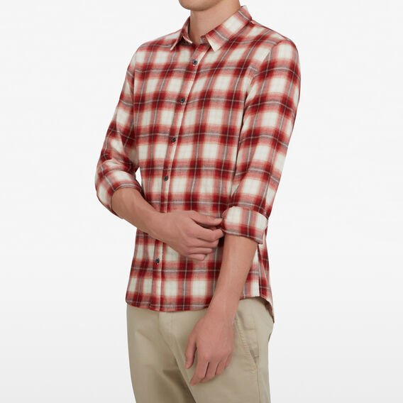RED CHECK CLASSIC FIT SHIRT  RED CHECK  hi-res