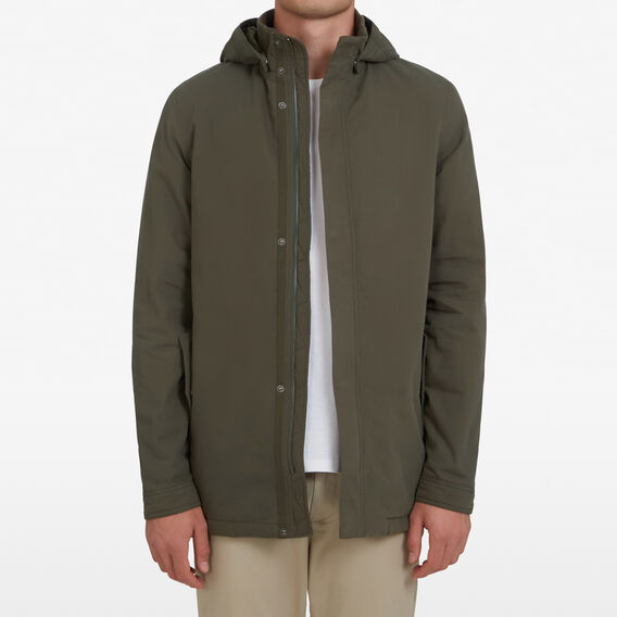 COTTON PARKA  KHAKI  hi-res