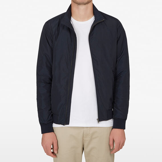 LINED WINDBREAKER  MARINE BLUE  hi-res
