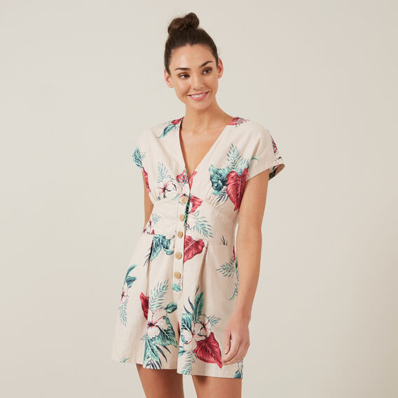 SUMMER TROPIC PLAYSUIT  MULTI  hi-res