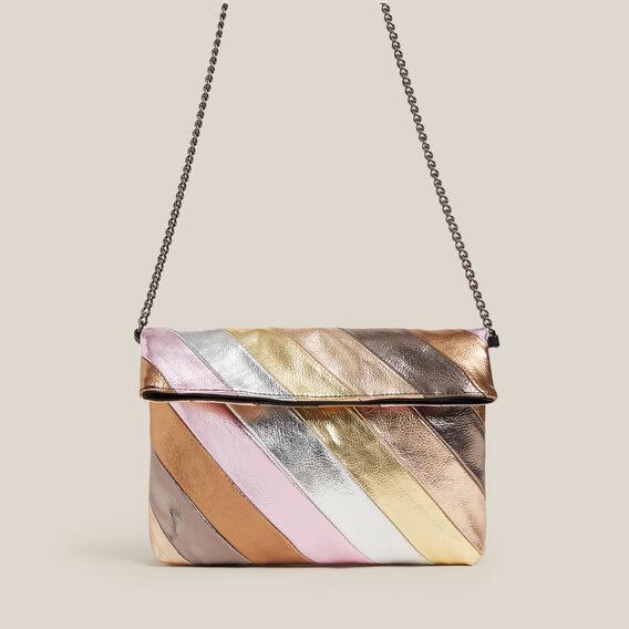 TONAL CLUTCH BAG  MULTI  hi-res