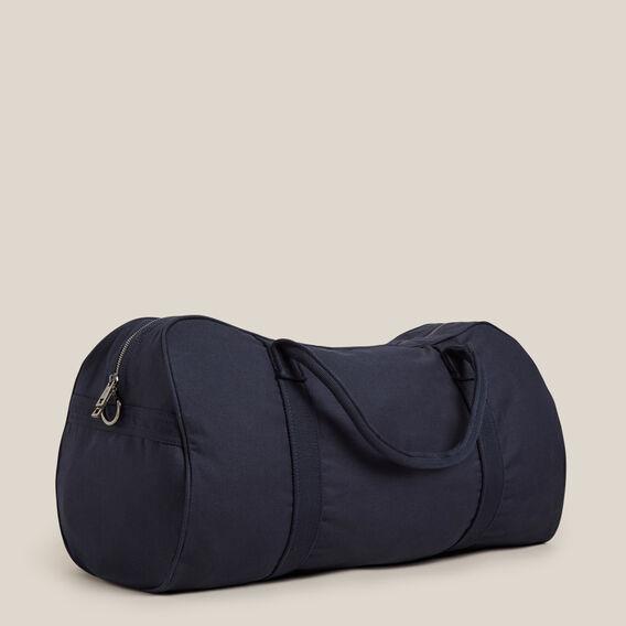 CANVAS DUFFLE BAG  MARINE BLUE  hi-res