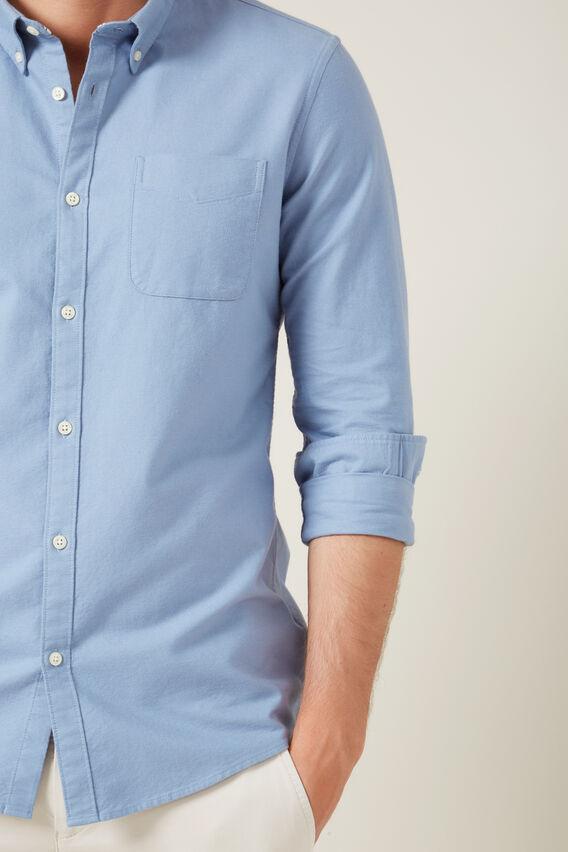 OXFORD SLIM FIT SHIRT  POWDER BLUE  hi-res
