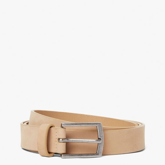 SUEDE BELT  LIGHT TAN  hi-res