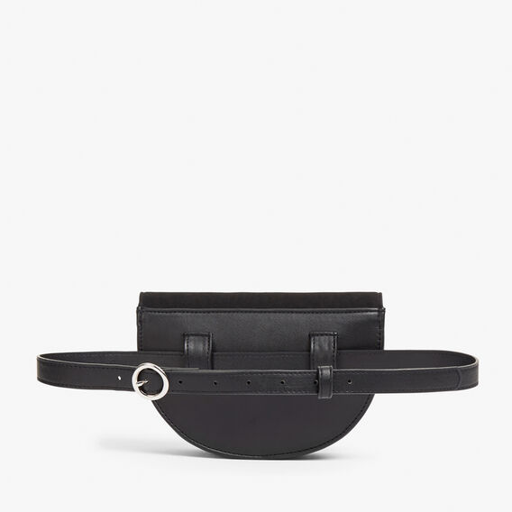 HALF MOON BELT BAG  BLACK  hi-res