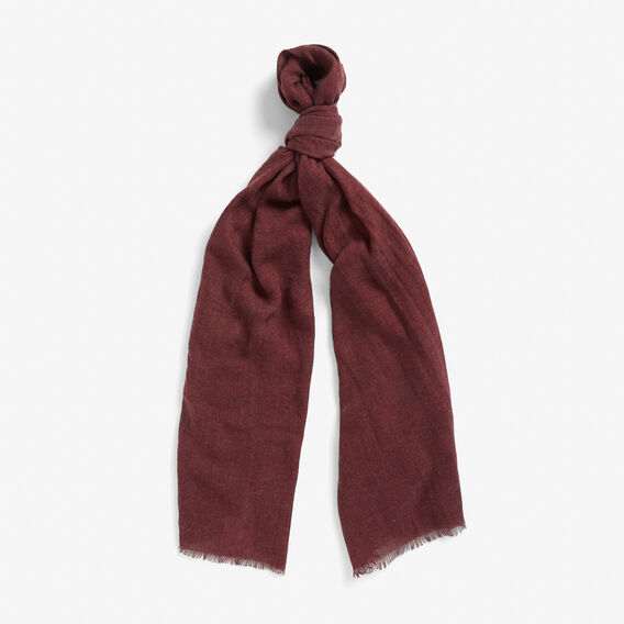 LIGHTWEIGHT SCARF  BURGUNDY  hi-res