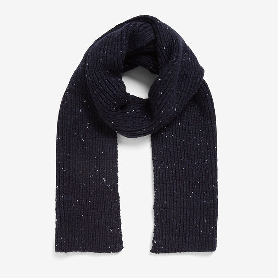 SPECKLE SCARF  MARINE BLUE  hi-res