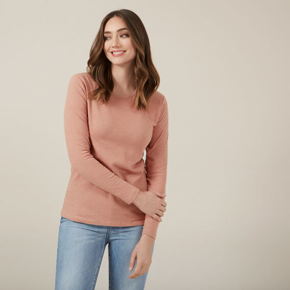 BLUSH LONGSLEEVE TEE  BLUSH  hi-res