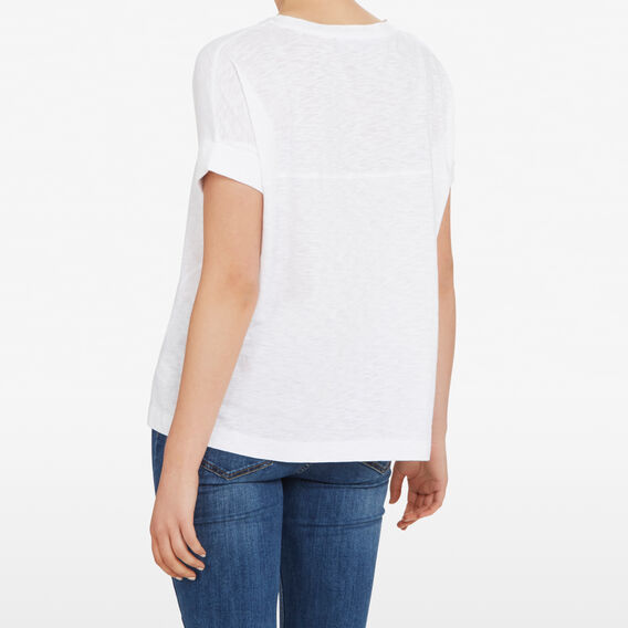 RELAXED EVERYDAY TEE  SUMMER WHITE  hi-res