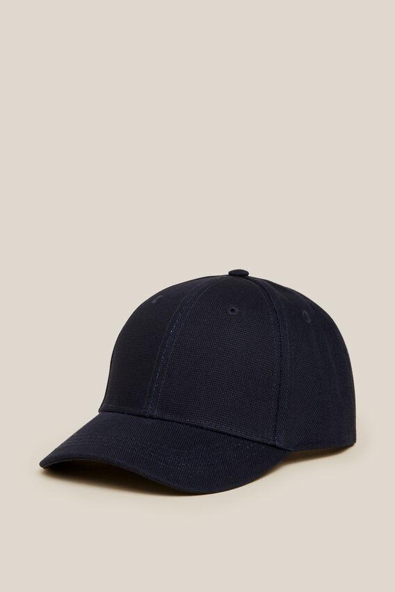 CANVAS CAP  MARINE BLUE  hi-res