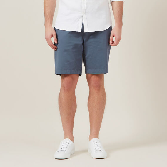 RELAXED FIT CHINO SHORT  SLATE BLUE  hi-res