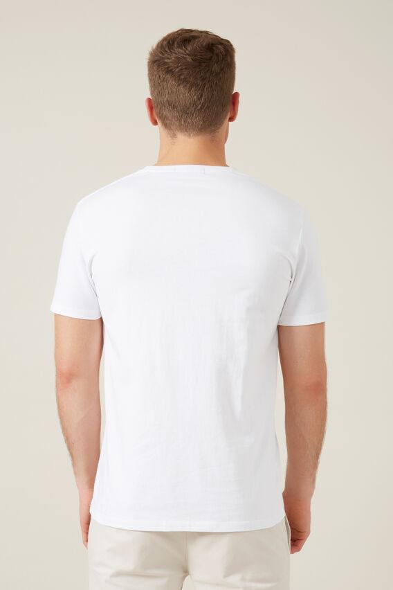 MONKEY T-SHIRT   WHITE  hi-res