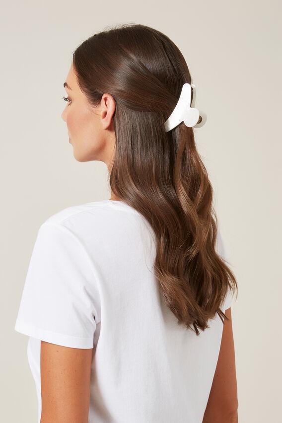 HAIR CLIP   PEARL  hi-res