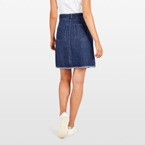 SOFT DENIM SKIRT  MID CHAMBRAY  hi-res