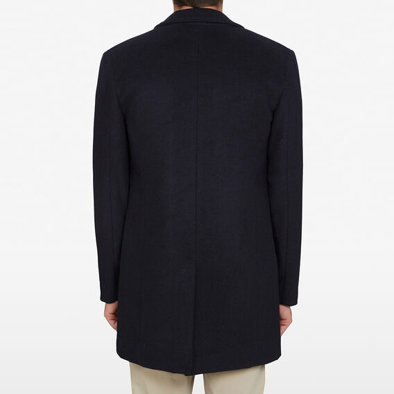 WOOL BLEND COAT  MARINE BLUE  hi-res