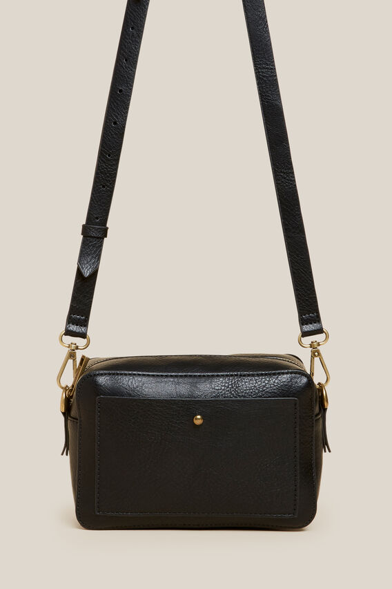 CROSS BODY BAG   BLACK  hi-res