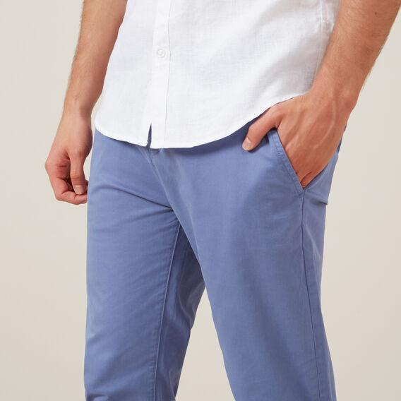 REGULAR FIT CHINO PANT  PACIFIC BLUE  hi-res