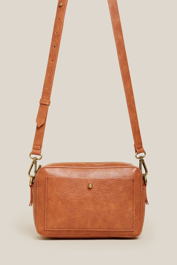 CROSS BODY BAG   TAN  hi-res