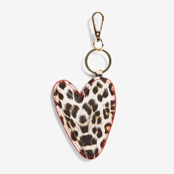 ANIMAL HEART KEYRING  MULTI  hi-res