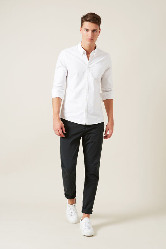 SLIM FIT CHINO PANT  FOREST  hi-res