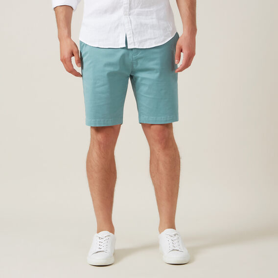 SLIM FIT CHINO SHORT  SPEARMINT  hi-res