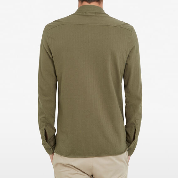 UTILITY POCKET CLASSIC FIT SHIRT  OLIVE  hi-res