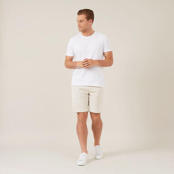 RELAXED FIT CHINO SHORT  SALT  hi-res