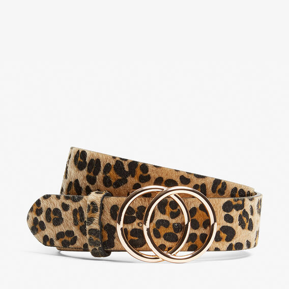 DOUBLE RING ANIMAL BELT  MULTI  hi-res
