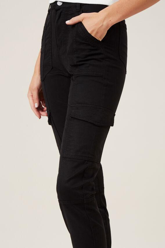 UTILITY CARGO PANT  BLACK  hi-res