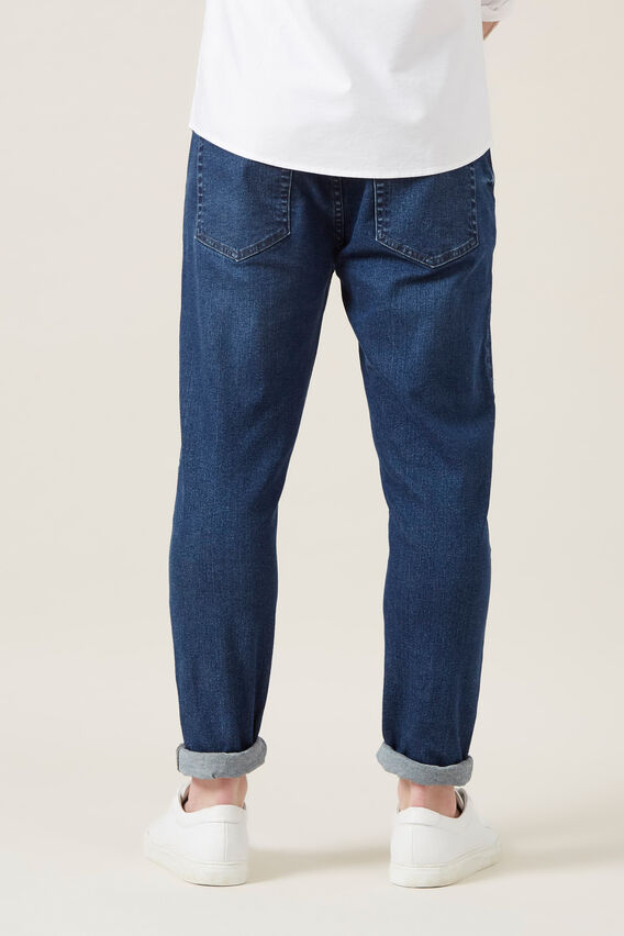SLIM STRETCH JEAN  DARK INDIGO  hi-res