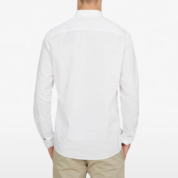 CLASSIC FIT SHIRT  WHITE  hi-res