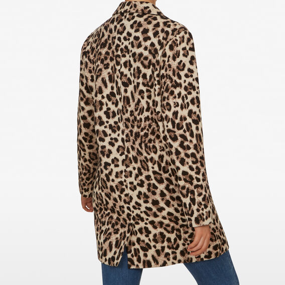 ANIMAL LONGLINE COAT  MULTI  hi-res
