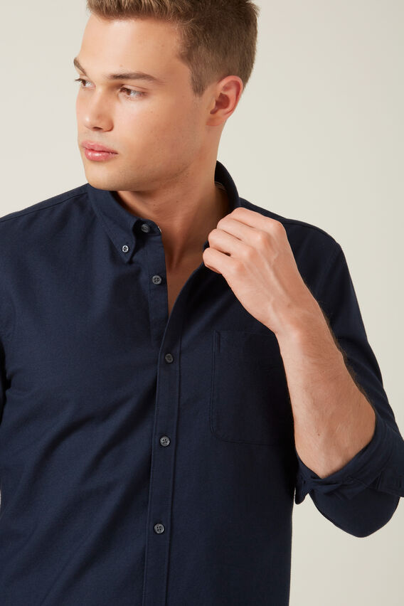 OXFORD REGULAR FIT SHIRT  OXFORD BLUE  hi-res