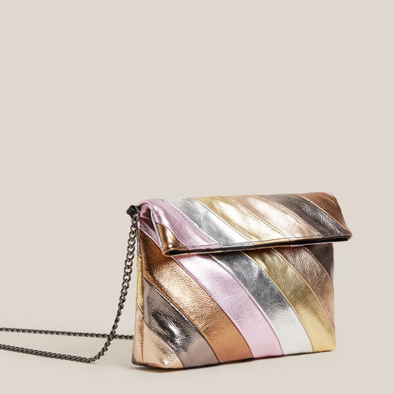 TONAL CLUTCH BAG  MULTI  hi-res