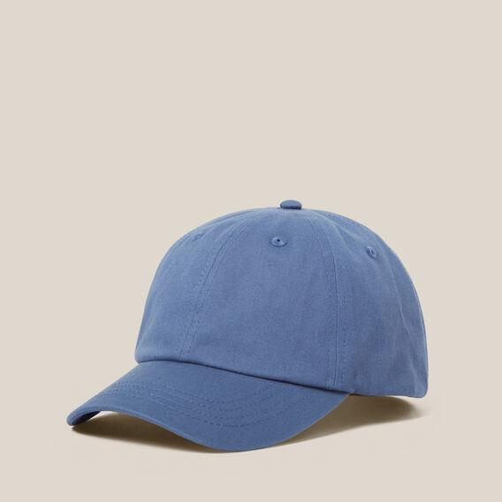 WASHED SOFT CAP  BLUE SHADOW  hi-res
