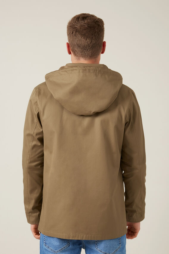 COTTON ANORAK  CAMEL  hi-res