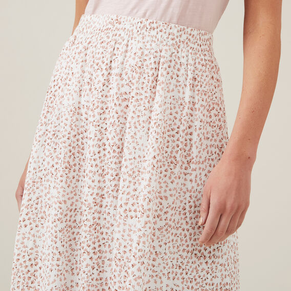 DITZY FLORAL SKIRT  WHITE/BLUSH  hi-res