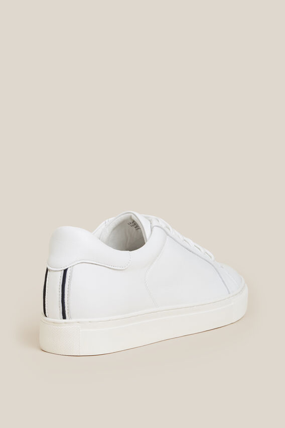 CLASSIC WHITE SNEAKER   WHITE  hi-res