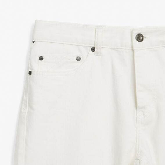 SLIM STRETCH CROPPED JEAN  WHITE  hi-res