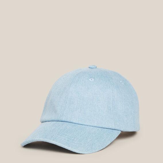 WASHED DENIM CAP  DENIM  hi-res