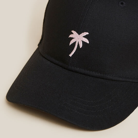 PALM TREE CAP  BLACK  hi-res