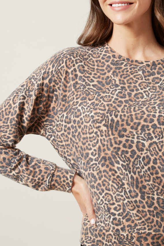 ANIMAL LONG SLEEVE SWEAT  ANIMAL  hi-res