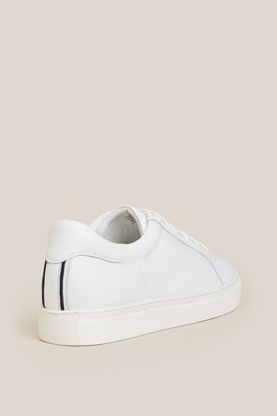 CLASSIC LEATHER SNEAKER  WHITE  hi-res
